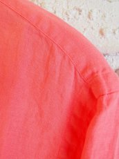 画像3: SUNSHINE+CLOUD カンクリーニ リネン スリップオンシャツ (3)