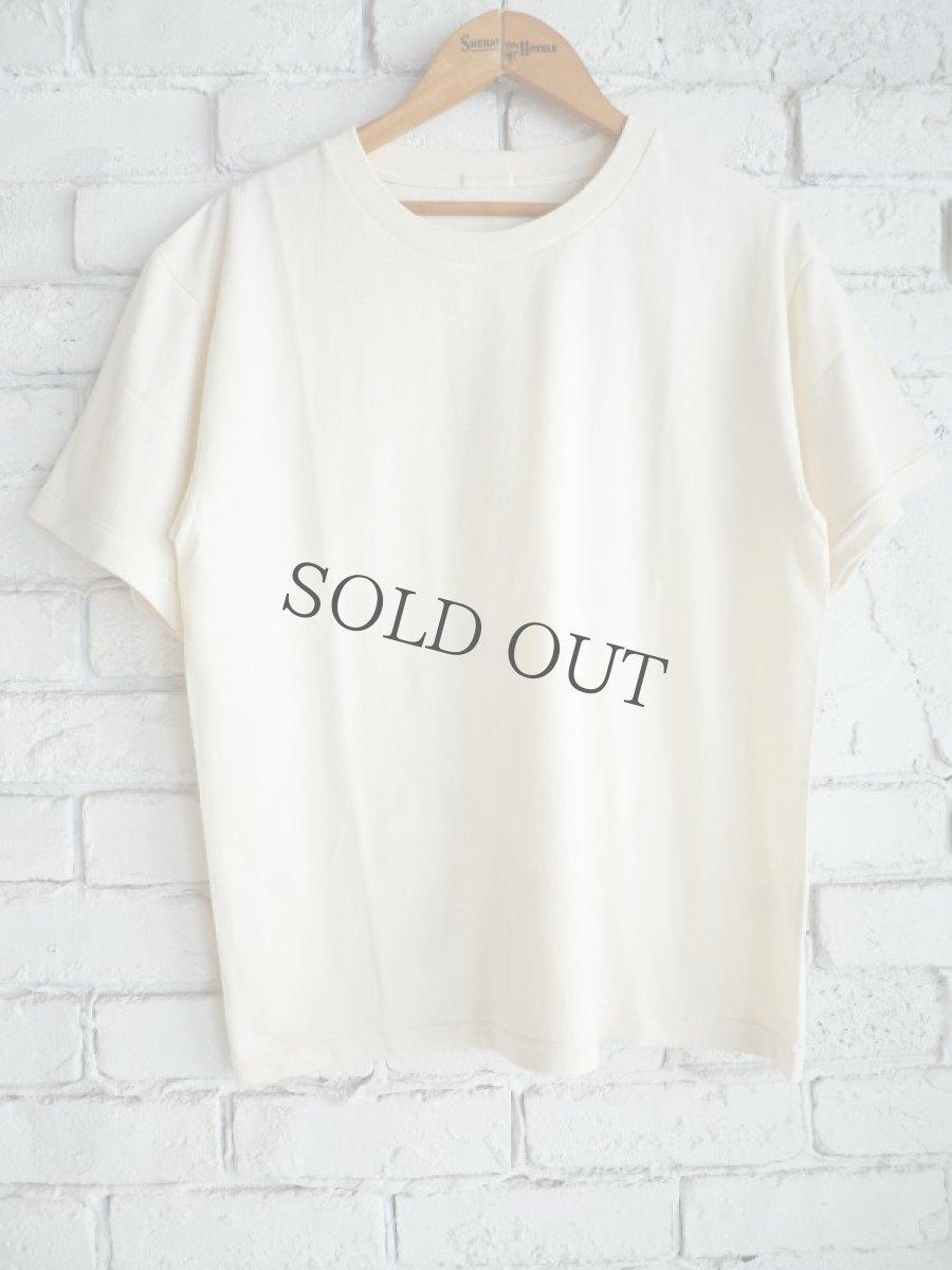 画像1: COMOLI 空紡天竺半袖クルーTシャツ (1)