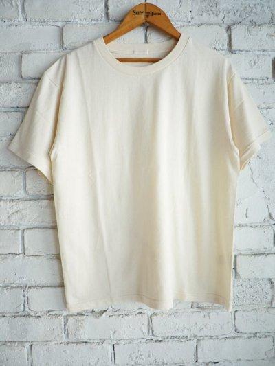 画像1: COMOLI 空紡天竺半袖クルーTシャツ