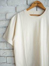 画像2: COMOLI 空紡天竺半袖クルーTシャツ (2)