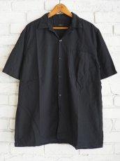 画像1: COMOLI ベタシャンショートスリーブオープンカラーシャツ (1)