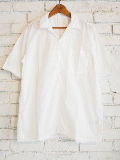 画像1: COMOLI ベタシャンショートスリーブオープンカラーシャツ