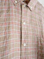 画像5: ●SUNSHINE+CLOUD カンクリーニ リネン ニューウエストシャツ (5)