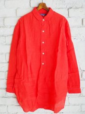 画像1: ●SEA SALT リトルカラーロングシャツ (1)