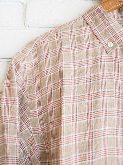 画像2: ●SUNSHINE+CLOUD カンクリーニ リネン ニューウエストシャツ