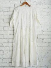 画像6: maku textiles ジャムダニピンタックドレス G1911 (6)