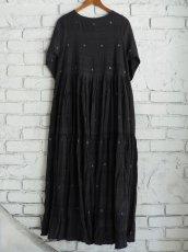 画像6: maku textiles クレープコットンジャムダニワンピース G1836 (6)