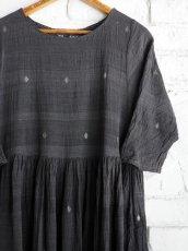 画像4: maku textiles クレープコットンジャムダニワンピース G1836 (4)