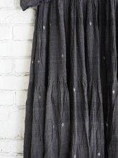 画像3: maku textiles クレープコットンジャムダニワンピース G1836 (3)
