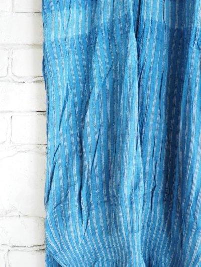 画像3: maku textiles 藍染クレープコットンワンピース G1919