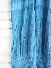 画像3: maku textiles 藍染クレープコットンワンピース G1919 (3)