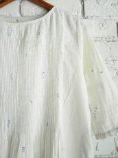 画像4: maku textiles ジャムダニピンタックドレス G1911 (4)