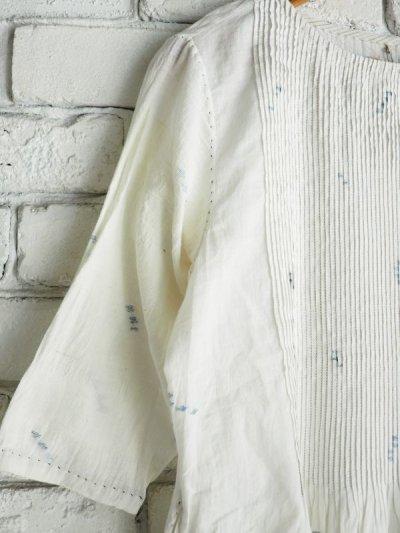 画像2: maku textiles ジャムダニピンタックドレス G1911
