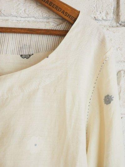 画像3: maku textiles ジャムダニラウンドネックチュニックドレス G1721