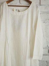 画像5: maku textiles カディーピンタックワンピース G1656 (5)