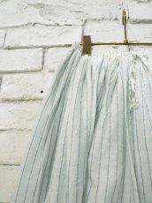 画像2: maku textiles シルクコットンペチコートスカート G1748 (2)
