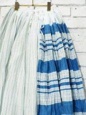 画像4: maku textiles シルクコットンペチコートスカート G1748 (4)