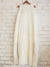 画像6: maku textiles ノースリーブAラインドレス G1906 (6)