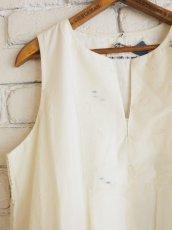 画像2: maku textiles ノースリーブAラインドレス G1906 (2)