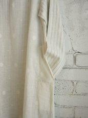 画像6: maku textiles Aライン二重ワンピース G1711 (6)