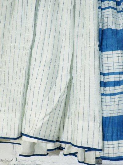 画像2: maku textiles シルクコットンペチコートスカート G1748