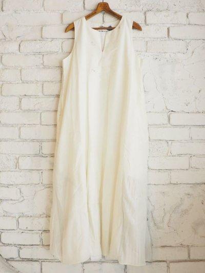 画像1: maku textiles ノースリーブAラインドレス G1906