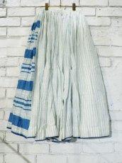 画像5: maku textiles シルクコットンペチコートスカート G1748 (5)