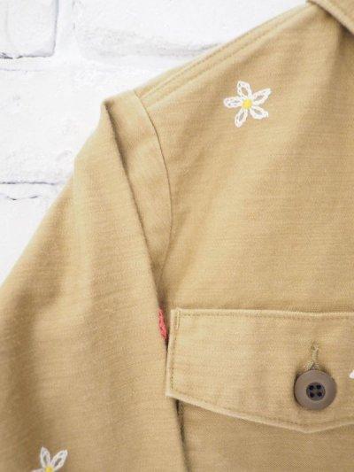 画像3: ●grown in the sun joe cool ユーティリティーシャツジャケット (刺繍あり)