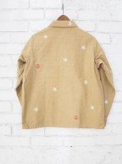 画像5: ●grown in the sun joe cool ユーティリティーシャツジャケット (刺繍あり)  (5)