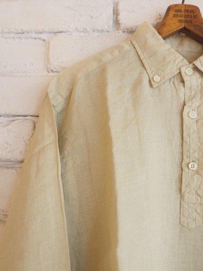 画像2: ●SUNSHINE+CLOUD カンクリーニ リネン スリップオンシャツ
