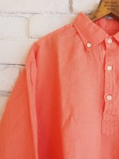 画像2: ●SUNSHINE+CLOUD カンクリーニ リネン スリップオンシャツ (2)