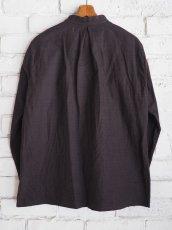 画像8: YAECA 【WOMEN'S】 (60130) 別注ログウッド染め カディコットンクルタシャツ (8)