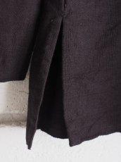 画像7: YAECA 【WOMEN'S】 (60130) 別注ログウッド染め カディコットンクルタシャツ (7)