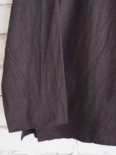 画像3: YAECA 【WOMEN'S】 (60130) 別注ログウッド染め カディコットンクルタシャツ