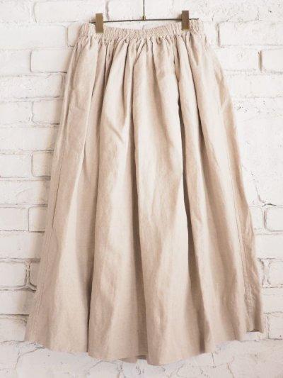画像1: Veritecoeur 【WOMEN'S】 ST-029 シャーリングスカート