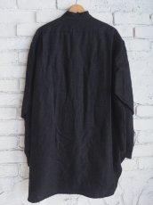 画像5: COMOLI ウールシルクプルオーバーシャツ (5)