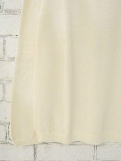 画像2: 【ユニセックス】F/style ホールガーメントのウールニット/丸首・長袖
