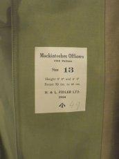 画像12: DEADSTOCK 50's UK ARMY OFFICERS MACKINTOSH (12)