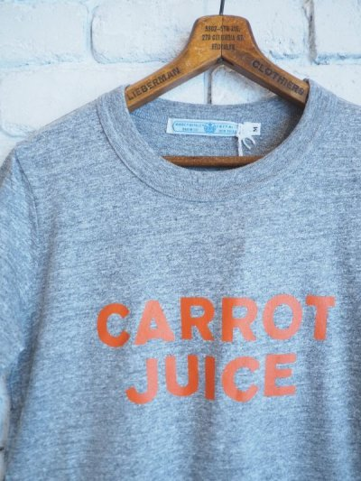画像2: R&D.M.Co- / OLDMAN'S TAILOR CARROT JUICE Tシャツ