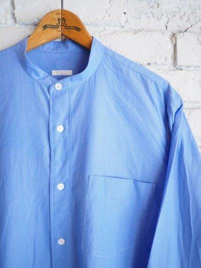 画像2: COMOLI バンドカラーシャツ