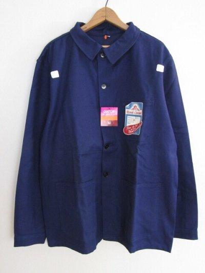 画像1: DEADSTOCK  60's FRENCH WORK JACKET デッドストック 60年代 フレンチワークジャケット