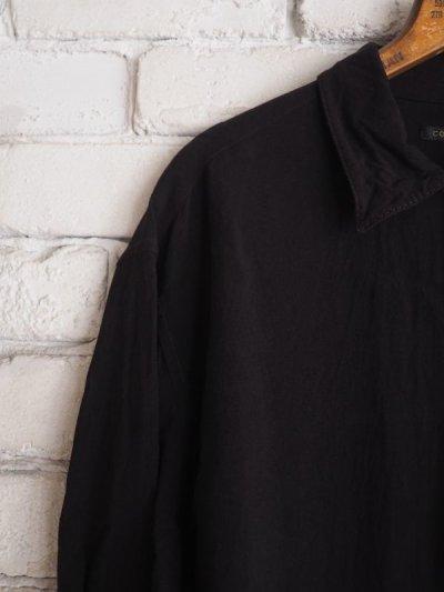 画像2: COMOLI レーヨンオープンカラーシャツ