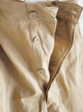 画像5: DEADSTOCK 60's FRENCH ARMY SHORT PANTS デッドストック 60年代 フランス軍 ショートパンツ (5)