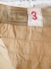 画像4: DEADSTOCK 60's FRENCH ARMY SHORT PANTS デッドストック 60年代 フランス軍 ショートパンツ (4)