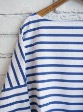 画像2: OUTIL TRICOT AAST ボーダーバスクシャツ (2)
