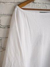 画像2: OUTIL TRICOT AAST バスクシャツ スリーブワイド (2)