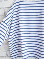 画像3: OUTIL TRICOT AAST ボーダーバスクシャツ (3)