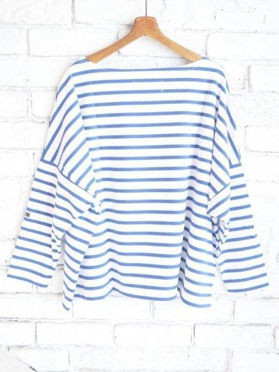 画像3: OUTIL TRICOT AAST ボーダーバスクシャツ
