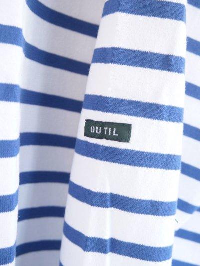 画像2: OUTIL TRICOT AAST ボーダーバスクシャツ