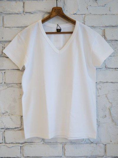 画像1: BATONER 【WOMEN'S】 パックVネックTシャツ